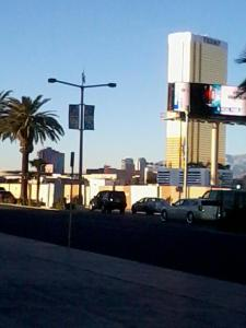 A Sin City Street early in the morning
