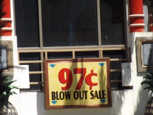 97 cent sign