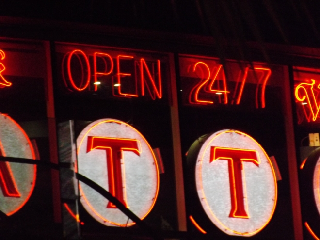 Open 24/7 ...The motto of Sin City Photo by Royal Hopper