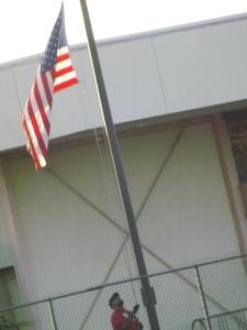 Flag Up in the morning _ Royal Hopper