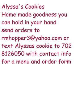 alysssas cookies tenatove ad