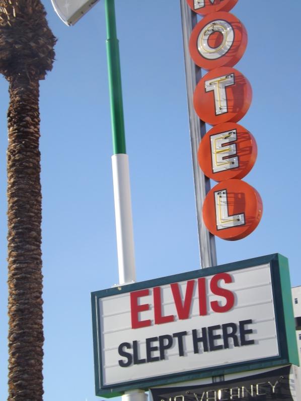 Elvis Slept here ..He did I swear ...Royal Hopper