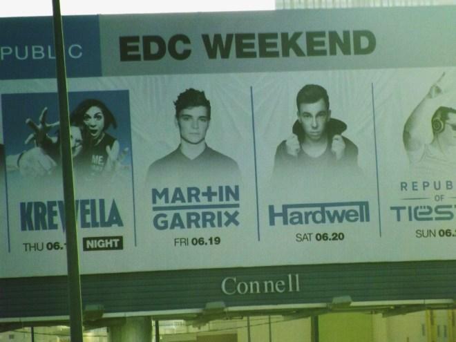 EDC sign