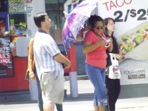 Sidewalk drama in the City of Sin--Sinners _ Royal Hopper