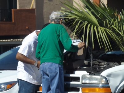 There are shade tree mechanics in every city _ Photo by Royal Hopper