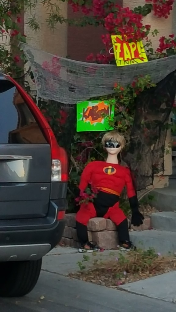 A neighbors House in My Sin City gated Community _ Photo by Royal Hopper