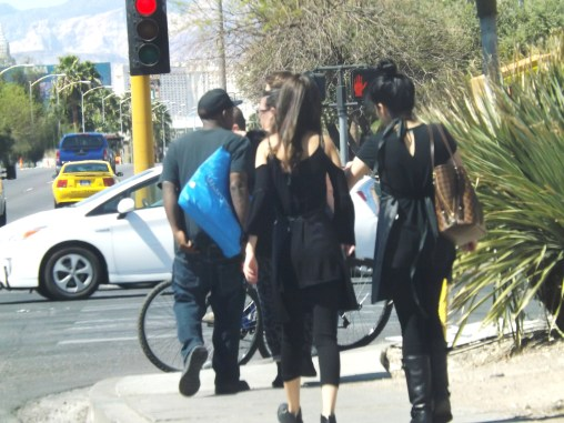back of goth girls