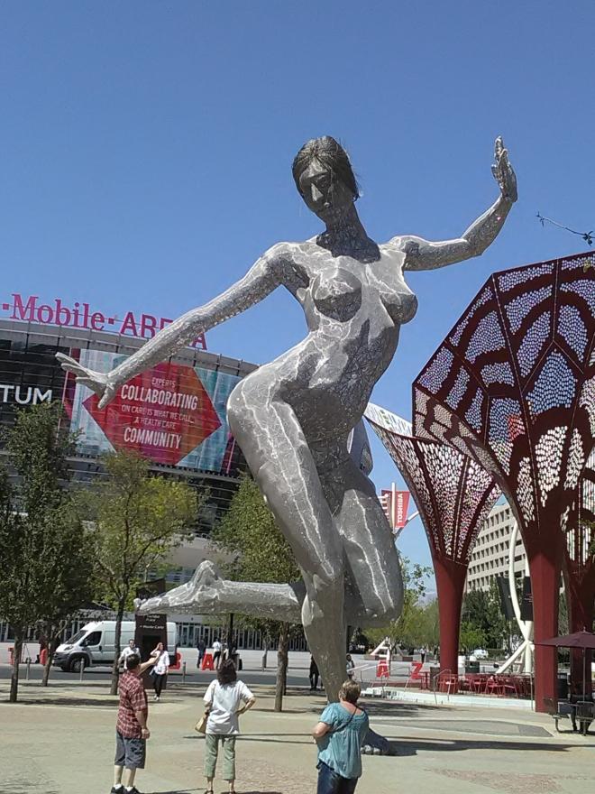 cool statue shot