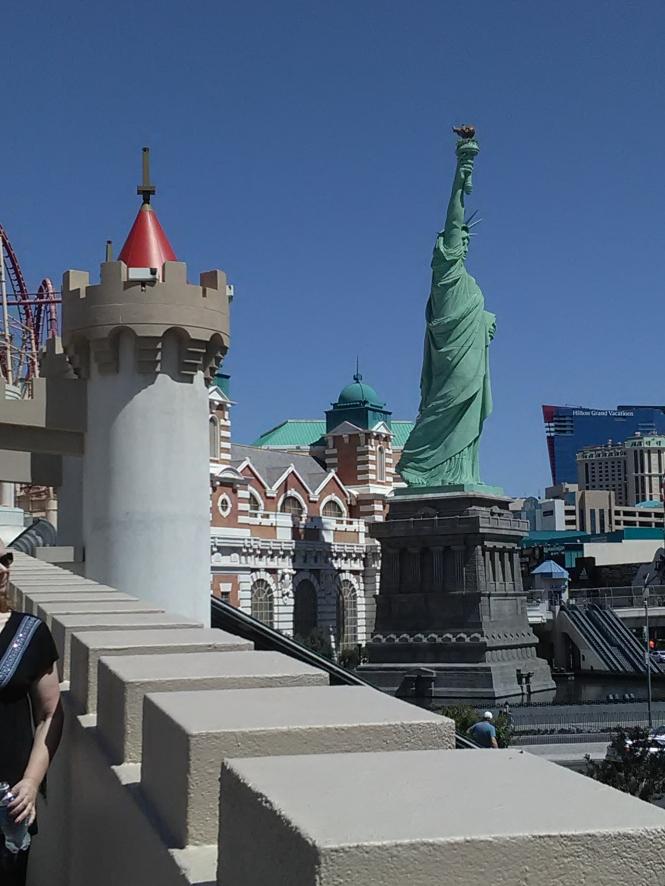 statue of liberty shot