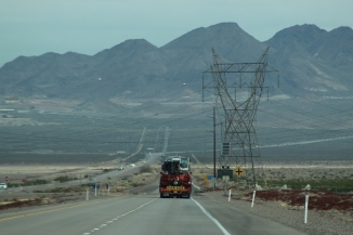 roadway shot on way to laughlin