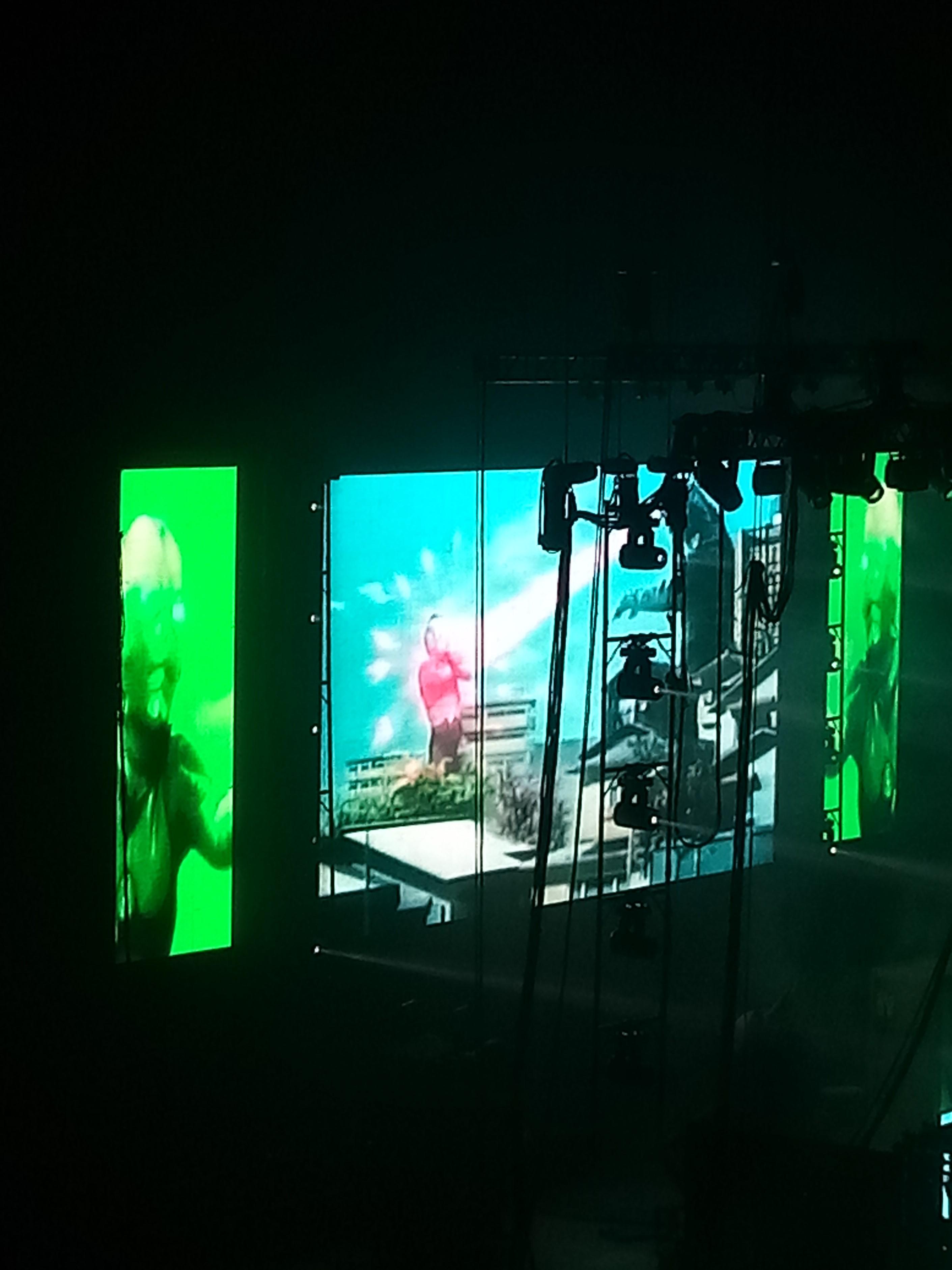 zombie big screen